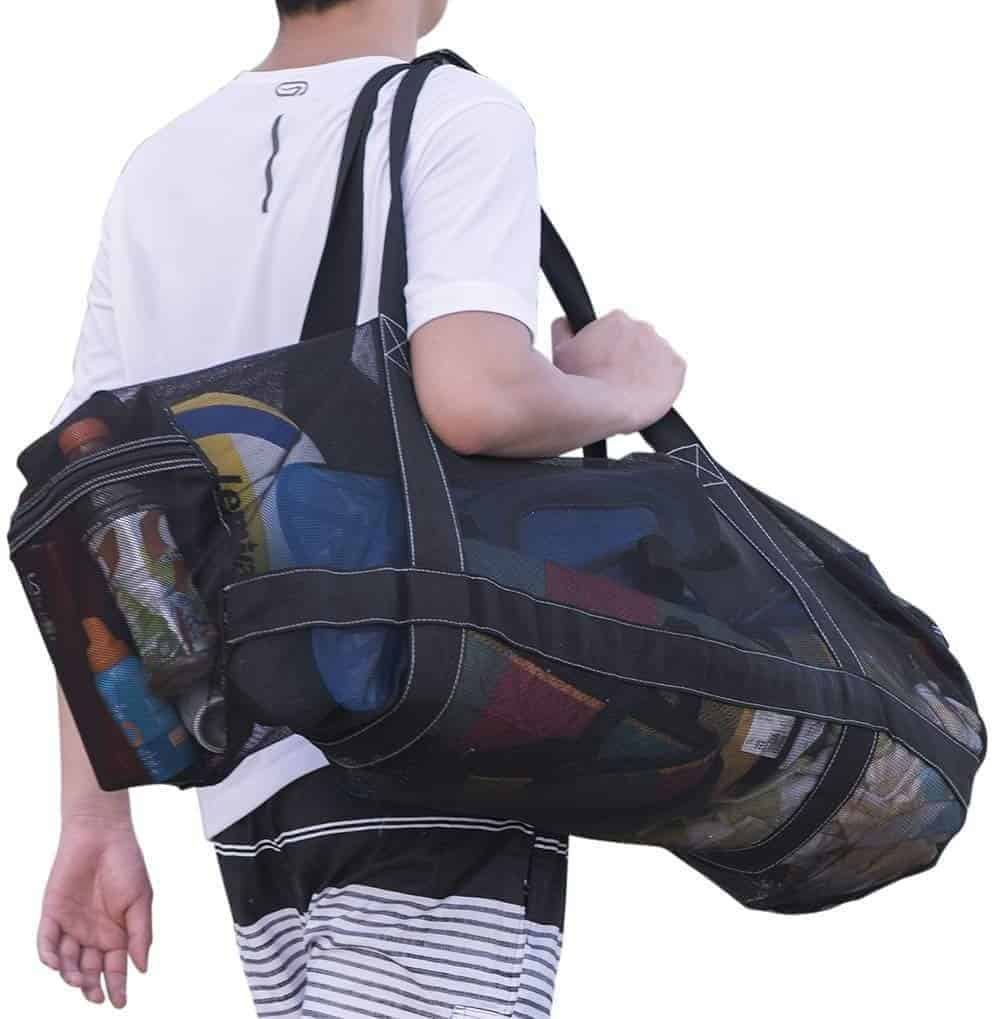 XXL Mesh Dive Bag for Mask Snorkel and Fins