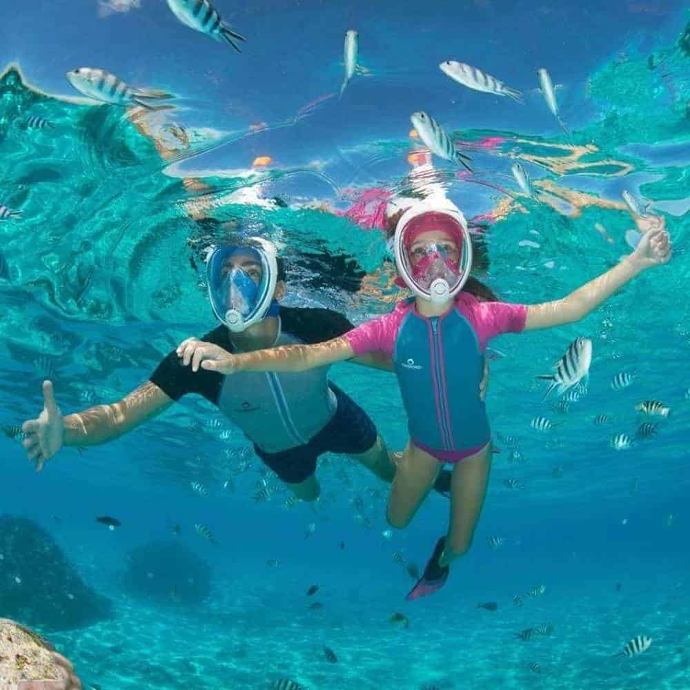 Tribord Subea Easybreath Full Face Snorkel Mask