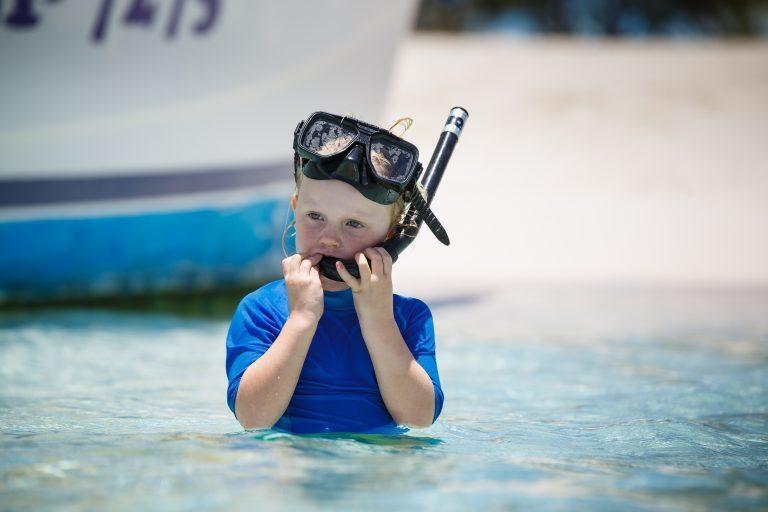 snorkeling for kids