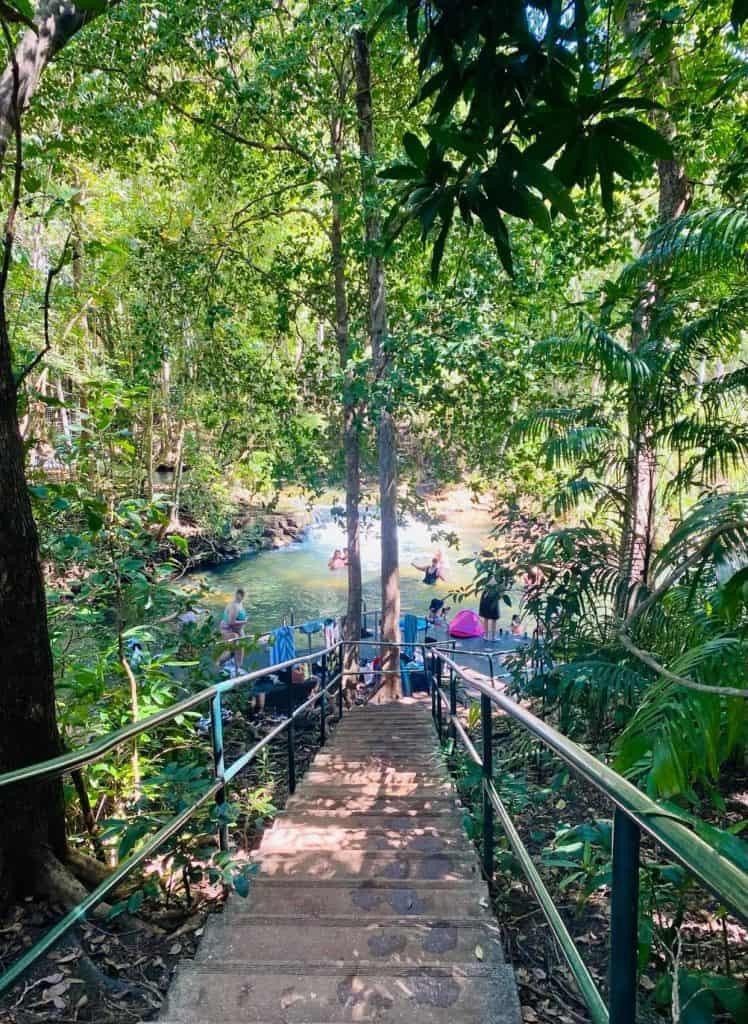 Main Pool Berry Springs Nature Reserve