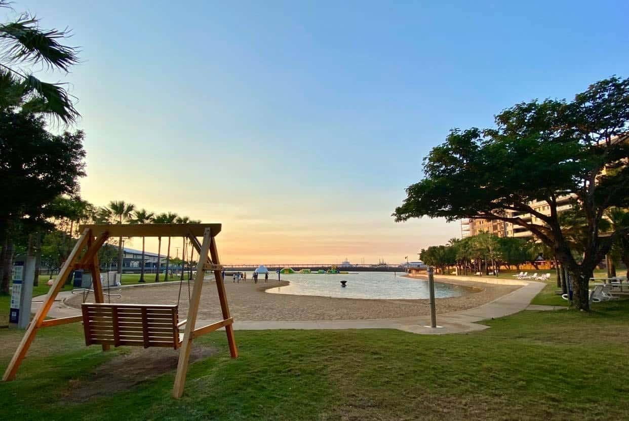 Sunrise at Darwin Waterfront