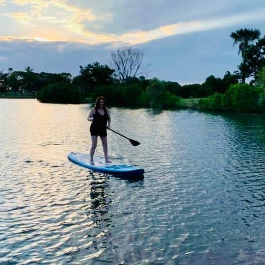 SUP in Lake Alexander