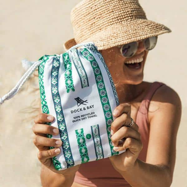 Beach Towels made from 100 percent recycled materials