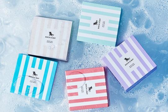 Dock & Bay Recycled Hair Wrap Packaging