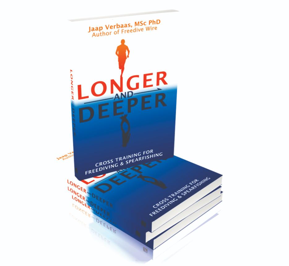 Free Diving Book - Longer and Deeper by Jaap Verbaas