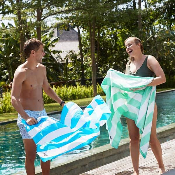 Large Beach Towels - Dock and Bay